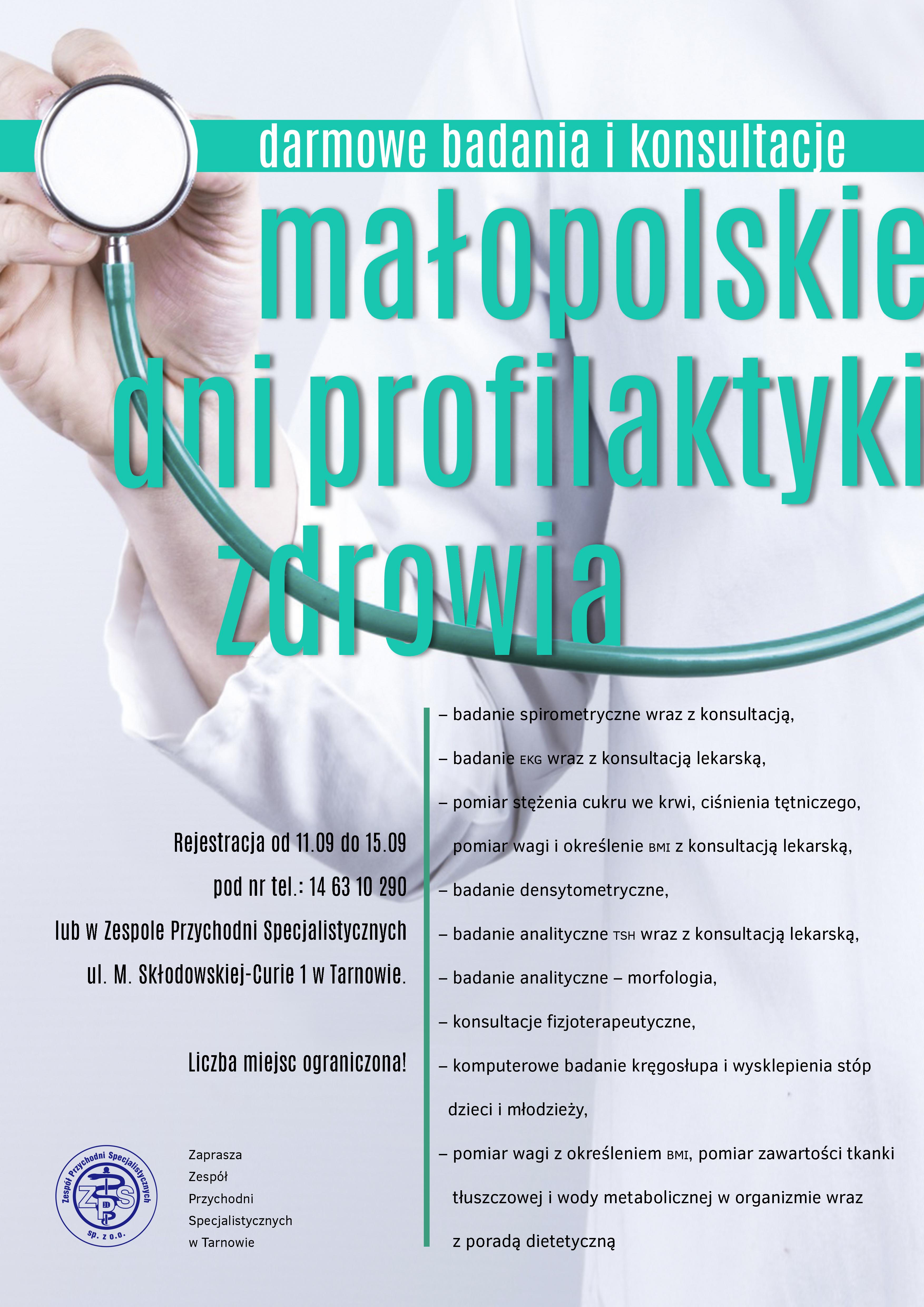 Darmowe badania i konsultacje – szeroka oferta