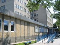 Budynek Marii Skłodowskiej-Curie przed remontem