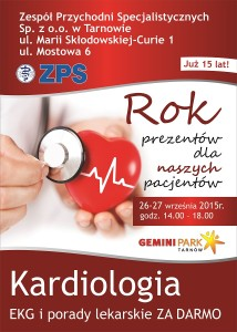 Bezpłatne badania EKG